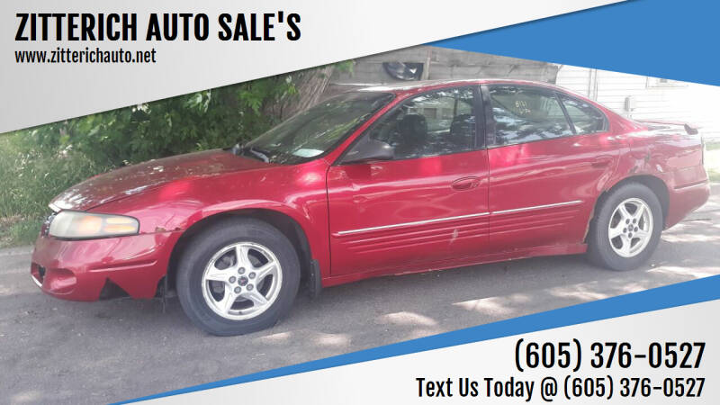 2004 Pontiac Bonneville for sale at ZITTERICH AUTO SALE'S in Sioux Falls SD