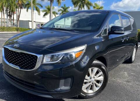 2016 Kia Sedona for sale at Maxicars Auto Sales in West Park FL