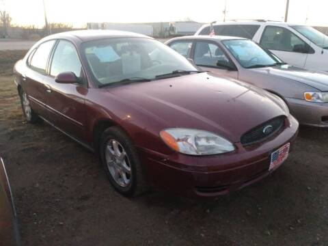 2007 Ford Taurus for sale at L & J Motors in Mandan ND
