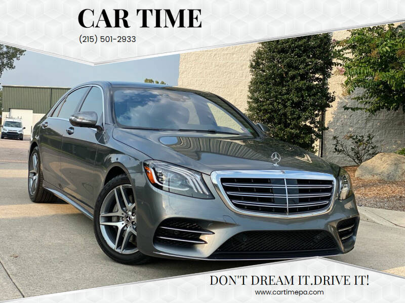 2018 Mercedes-Benz S-Class for sale at Car Time in Philadelphia PA