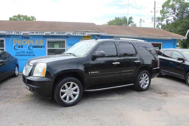 2007 GMC Yukon for sale at The Peoples Car Company in Jacksonville FL