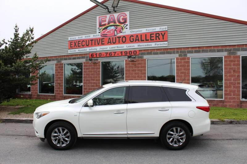 2015 Infiniti QX60 for sale at EXECUTIVE AUTO GALLERY INC in Walnutport PA
