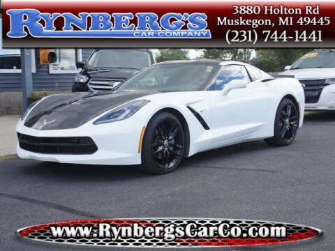 2018 Chevrolet Corvette for sale at Rynbergs Car Co in Muskegon MI