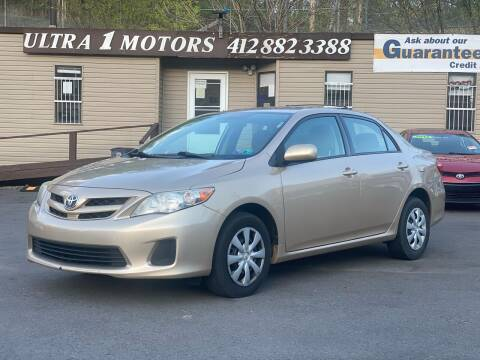 2011 Toyota Corolla for sale at Ultra 1 Motors in Pittsburgh PA