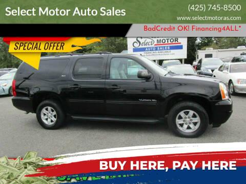 2012 GMC Yukon XL for sale at Select Motor Auto Sales in Lynnwood WA
