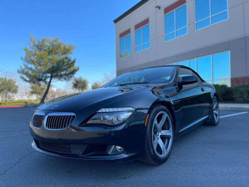 2008 BMW 6 Series for sale at TREE CITY AUTO in Rancho Cordova CA