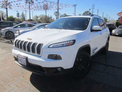 2017 Jeep Cherokee for sale at PREFERRED MOTOR CARS in Covina CA