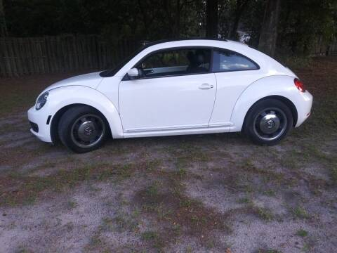 2012 Volkswagen Beetle for sale at Royal Auto Mart in Tampa FL