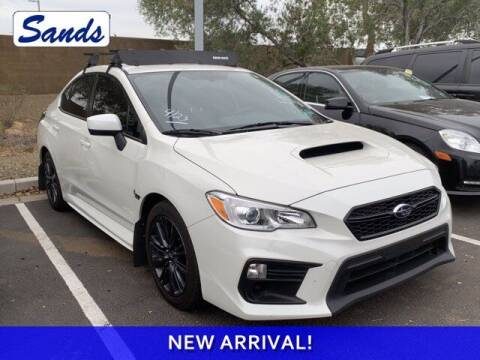 2019 Subaru WRX for sale at Sands Chevrolet in Surprise AZ