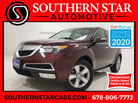2013 Acura MDX for sale at Southern Star Automotive, Inc. in Duluth GA