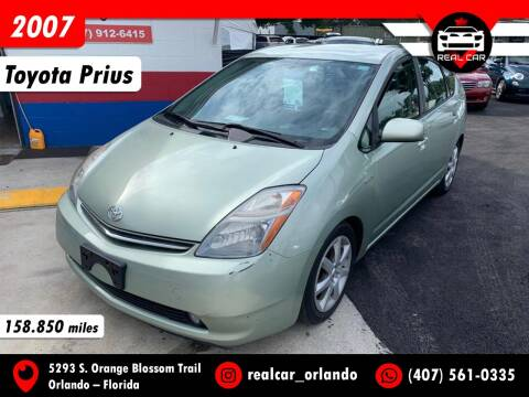 2007 Toyota Prius for sale at Real Car Sales in Orlando FL