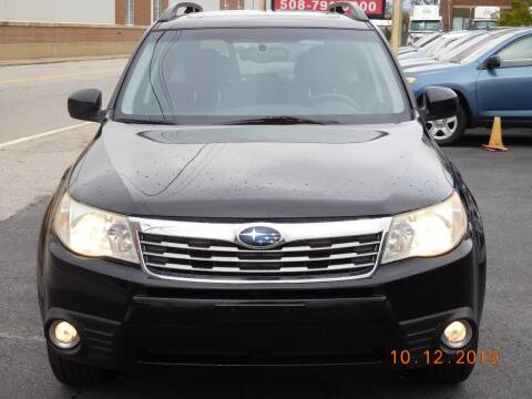 2010 Subaru Forester for sale at Southbridge Street Auto Sales in Worcester MA