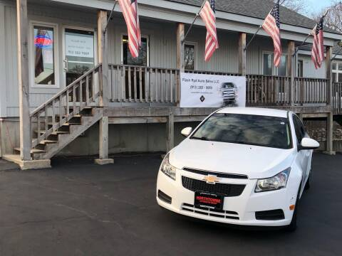 2012 Chevrolet Cruze for sale at Flash Ryd Auto Sales in Kansas City KS
