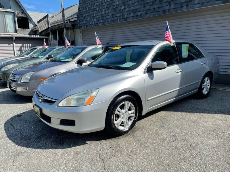 2007 Honda Accord for sale at JK & Sons Auto Sales in Westport MA
