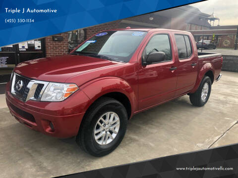 2014 Nissan Frontier for sale at Triple J Automotive in Erwin TN