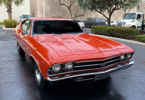 1969 Chevrolet Chevelle SS 396 for sale at Suncoast Sports Cars and Exotics in West Palm Beach FL