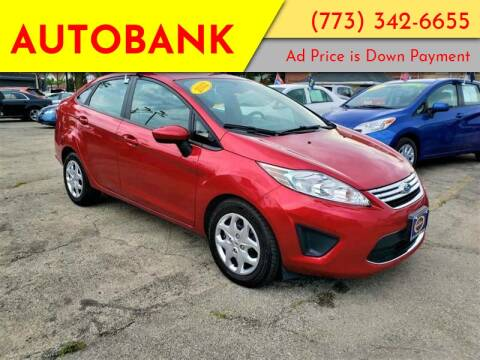 2012 Ford Fiesta for sale at AutoBank in Chicago IL