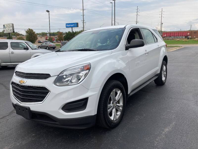 2016 Chevrolet Equinox for sale at Auto Outlets USA in Rockford IL
