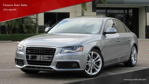 2009 Audi A4 for sale at Carpros Auto Sales in Largo FL