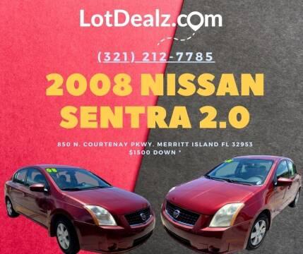 2008 Nissan Sentra for sale at ROCKLEDGE in Rockledge FL