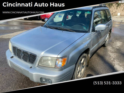 2002 Subaru Forester for sale at Cincinnati Auto Haus in Cincinnati OH