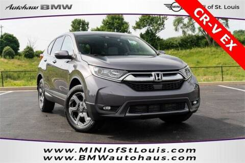 2018 Honda CR-V for sale at Autohaus Group of St. Louis MO - 40 Sunnen Drive Lot in Saint Louis MO