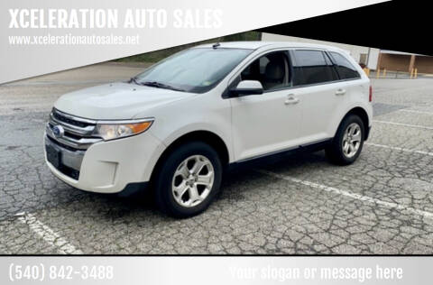2013 Ford Edge for sale at XCELERATION AUTO SALES in Chester VA