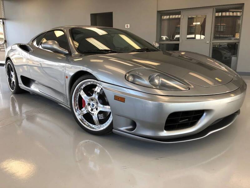 2002 Ferrari 360 Modena for sale at M4 Motorsports in Kutztown PA