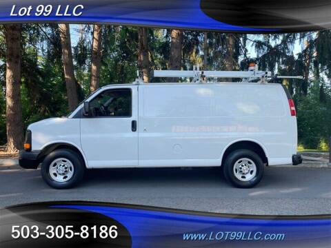 2015 Chevrolet Express Cargo for sale at LOT 99 LLC in Milwaukie OR