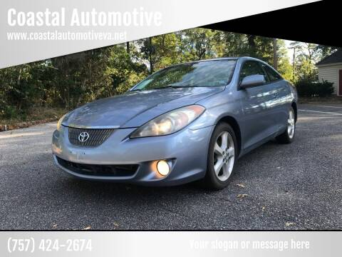 2006 Toyota Camry Solara for sale at Coastal Automotive in Virginia Beach VA