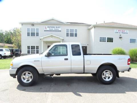 2008 Ford Ranger for sale at SOUTHERN SELECT AUTO SALES in Medina OH