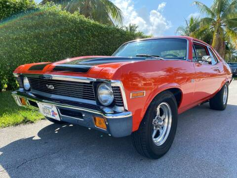 1971 Chevrolet Nova for sale at American Classics Autotrader LLC in Pompano Beach FL