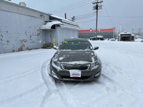 2014 Kia Optima for sale at Santa Motors Inc in Rochester NY