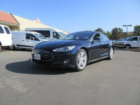 2013 Tesla Model S for sale at Norco Truck Center in Norco CA