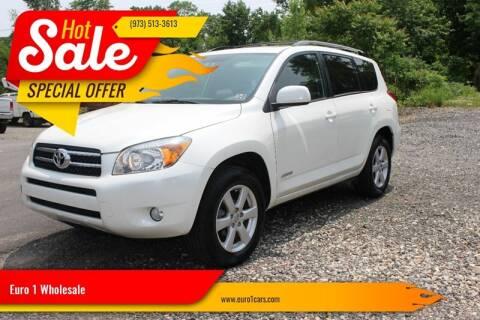 2006 Toyota RAV4 for sale at Euro 1 Wholesale in Fords NJ