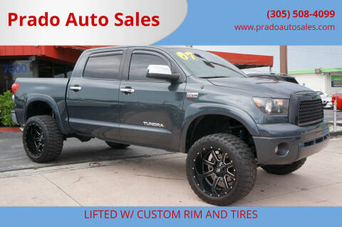 2007 Toyota Tundra for sale at Prado Auto Sales in Miami FL