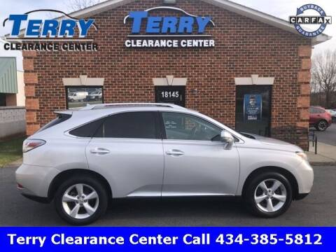 2010 Lexus RX 350 for sale at Terry Clearance Center in Lynchburg VA