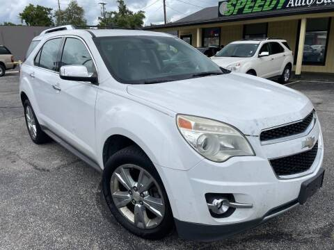 2011 Chevrolet Equinox for sale at speedy auto sales in Indianapolis IN
