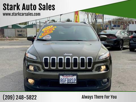 2014 Jeep Cherokee for sale at Stark Auto Sales in Modesto CA