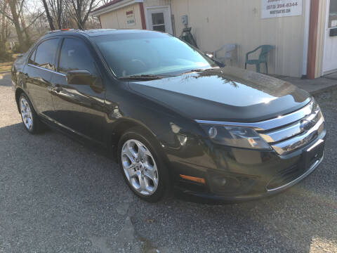 2010 Ford Fusion for sale at Woody's Auto Sales in Jackson MO