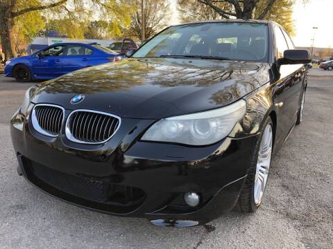 2009 BMW 5 Series for sale at Atlantic Auto Sales in Garner NC