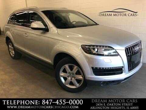 2012 Audi Q7 for sale at Dream Motor Cars in Arlington Heights IL