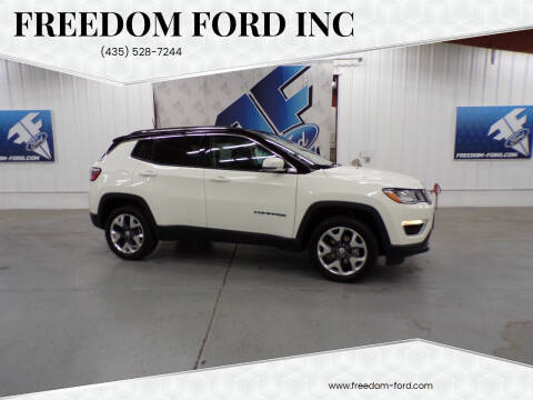 2021 Jeep Compass for sale at Freedom Ford Inc in Gunnison UT