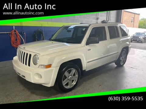 2010 Jeep Patriot for sale at All In Auto Inc in Addison IL
