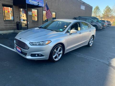 2016 Ford Fusion for sale at CJ Clark's New England Motor Car Company in Hudson NH