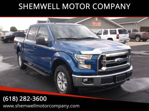 2017 Ford F-150 for sale at SHEMWELL MOTOR COMPANY in Red Bud IL