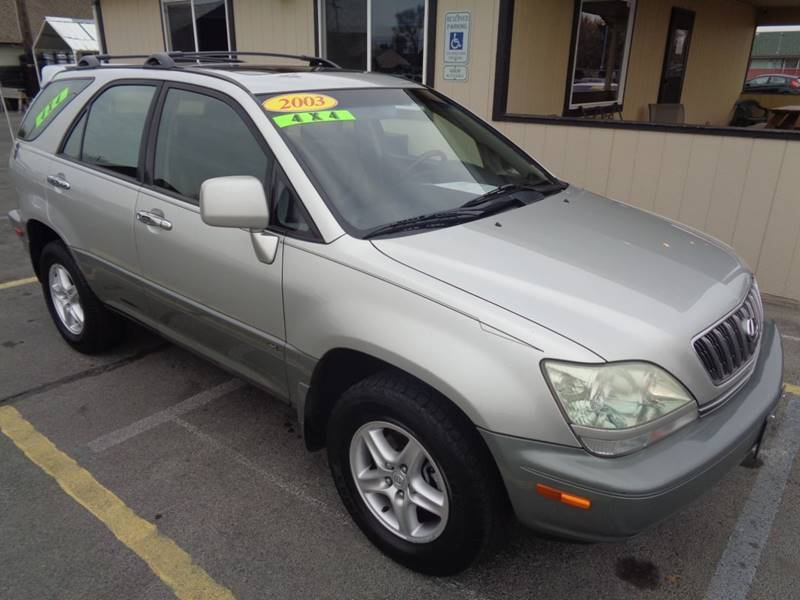 2003 Lexus RX 300 for sale at BBL Auto Sales in Yakima WA