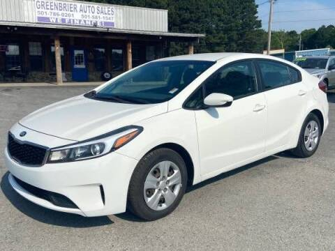 2017 Kia Forte for sale at Greenbrier Auto Sales in Greenbrier AR