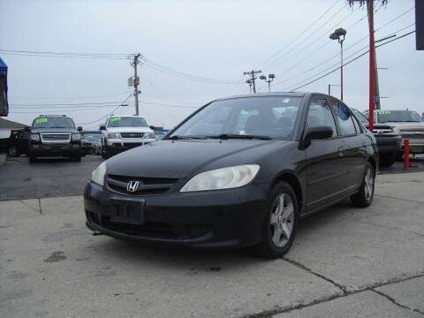 2004 Honda Civic for sale at Nationwide Auto Group in Melrose Park IL