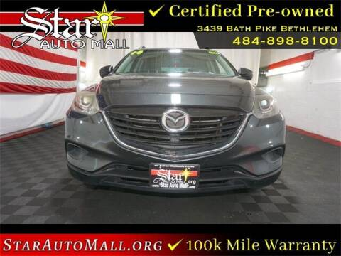 2014 Mazda CX-9 for sale at STAR AUTO MALL 512 in Bethlehem PA